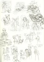 YC-Deepest Desire: sketches by InYuJi
