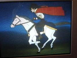 Domon Takes A Ride by ZebraRaine