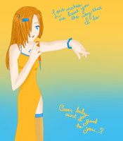 Midori Akine--gee baby... by sORRYbUTnO