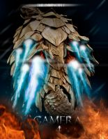 Gamera fan-made cover by Ucaliptic