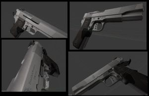 Pistol 9mm wip by DennisH2010