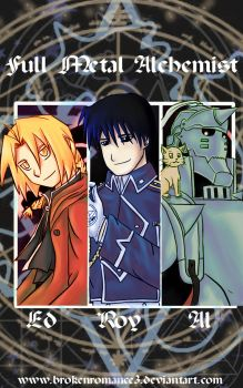 FMA-Our solemn hour by BrokenRomance3