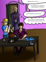 Mage Making Potions by I-Major-In-Magick