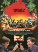 Battle Beasts Ad by clowndevilboy
