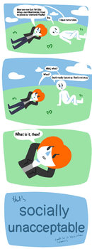 I made a comic and it's not Facade wow by Fluffmallow