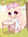 Spring time dessert by puffellie