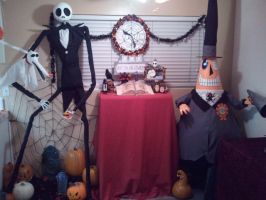Nightmare Before Christmas props by kam3153