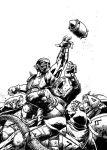 Blood Bowl cover by Spacefriend-T