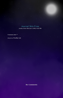 Free Moon And Stars Journal Skin by converse-kitten