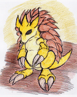 28 -  Sandslash by JacobMace