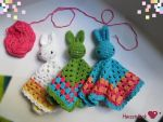 Baby bunny-snugglers by Herzstueck-Handmade