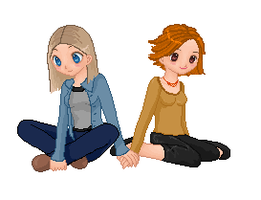 Willow And Tara by Le-Fantome-Femelle