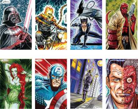 Sketch card samples 1 by canthebaran