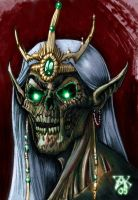 Lich King Portrait by LazarusReturns