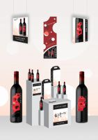 Little Red Marketing Display by blue-flamingo