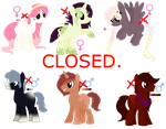 MLP Palettes adoptables - CLOSED by Psycho-CandyAddicted
