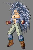 Trunks GT SSJ5 by theothersmen