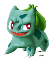 Bulbasaur by Takek