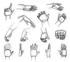Shape Breakdowns: Hands by Robo-Shark