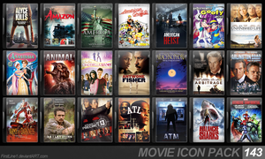 Movie Icon Pack 143 by FirstLine1