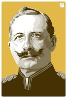 Wilhelm II by monsteroftheid