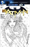 Poison Ivy Sketch Cover by jamietyndall