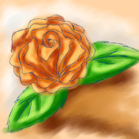 A Rose by Blue-Shine-Star