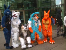 Furry group pic 2 by SpringDasie