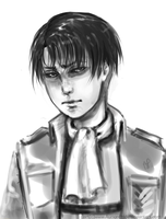 Rivaille heichou - sketch by AurionPride
