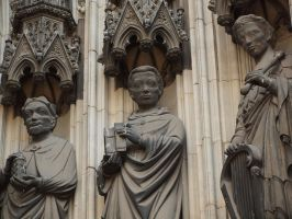 Cologne Cathedral - Detail 29 by tmfNeurodancer