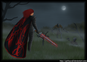 The fallen Lord of Avernus by GothaWolf
