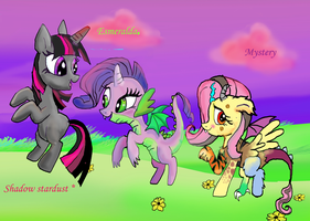 The new Cutie Mark Crusaders by raggyrabbit94
