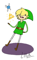 It's Zelda Time by mayday-daywalker