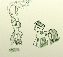 Do you even levitate? by tinfdraw