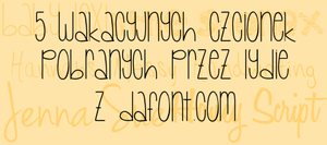 5 fonts collected by Lydia by Lydialowa