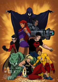 New Teen Titans... by rymslm