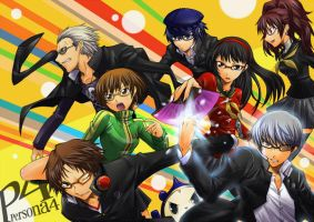 Persona 4 Wallpaper the Third by luthorne