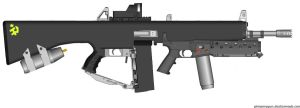 My AA-12 by GeneralTate