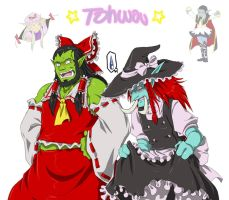 Tohwou by tornking