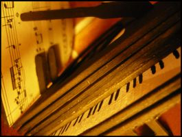 Unplayed Piano by SometingElse