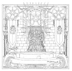 Game Of Thrones_ Coloring Book_ 19 by AllJeff