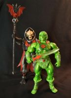 MOTUC custm Slime Pit He-Man 4 by masterenglish