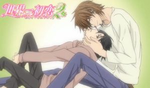 Sekaiichi 2 Wallpaper 2 by joanamysts