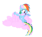 Rainbow Dash: Eww What Is This by Takua770