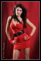 Alisha in Red by DreamPhotographySyd