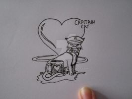 Capitain Cat (boceto) by Kaila-Rips