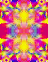 Fractal Abstract 4-14-11 Three by Hillbillygirl