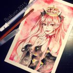 Queen by Byakurin