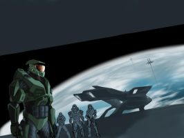WIP halo reach by jose144