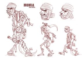 Momia Design by ivancash